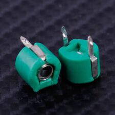 10pcs 30pF Adjustment Slot Variable 6mm Trimmer Capacitor 2 Pins Plastic Metal