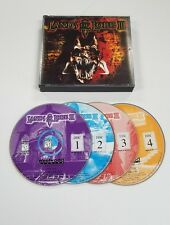 Lands Of Lore III PC CD-ROM Game 4 Discs 1999 Westwood Complete