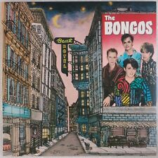THE BONGOS: Beat Hotel USA RCA '84 NFL1-8043 Electronic New Wave LP NM w/ Insert