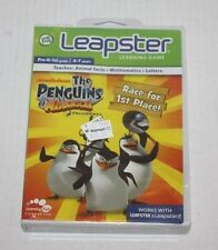 New LeapFrog Leapster 1 & 2 Learning Game The Penguins of Madagascar Dreamworks