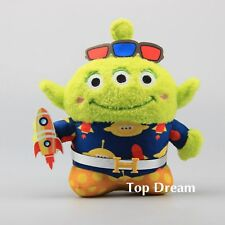 Toy Story Squeeze Toy Alien 3 Eyes Plush Toy Soft Stuffed Doll 10'' Figure