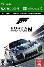 Forza Motorsport 7 - Xbox One/ Windows 10 Game Digital Code - Global