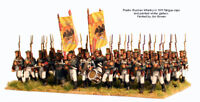 Russian Napoleonic Infantry 1809-1814 - 28mm figures x40 - Perry RN20 - P3