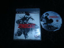 PS3 Syndicate (Sony PlayStation 3, 2012)  - FREE SHIPPING