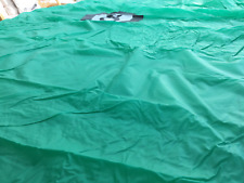 EX DEMO Pool snooker elasticated green 7ft x 4ft pool table cover 8 BALL LOGO