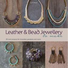 Leather and Bead Jewellery to Make: 30 Cool Projects fo - Paperback NEW Cat Horn