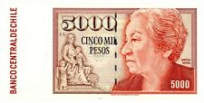 Chile … P-155e … 5000 Pesos … 1997 … *Ch AU+*.