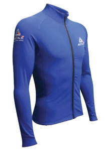 2P Thermo Shield Long Sleeve Front Zip - Blue