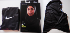 Nike Women's Printed Pro HIJAB Color Oil Grey/Black/Red Orbit Size XS/s New