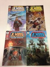 Star Wars X-Wing Rogue Squadron The Rebel Opposition 1 2 3 4 1995 complete set