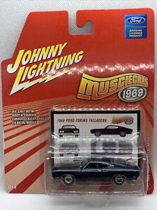 Johnny Lightning Musclecars 1969 Ford Torino Talladega Diecast Collectible