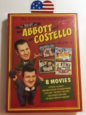 New Sealed BEST OF ABBOTT COSTELLO Vol 2 Red Volume Hit the Ice In Society Here