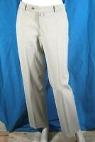 BRUNO SAINT HILAIRE Taille 44  pantalon habillé beige gris homme laine mélangé