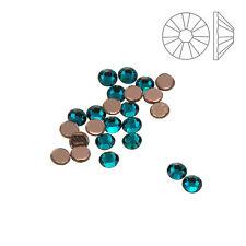 Swarovski Hotfix (2038) Crystals SS10 Blue Zircon Pack of 24 (K61/14)