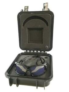 Nike Strobe Reaction Training Goggles Sunglasses w/ Armored Case Sparq Vapor