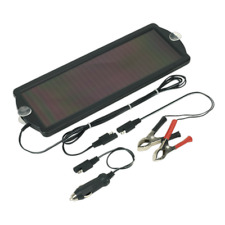 Sealey SPP01 Solar Power Panel 12V/1.5W Battery Trickle Maintenance Charger