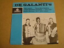 ACCORDEON 45T SINGLE IMPERIAL / DE GALANTI'S - ZWARTE PARELS