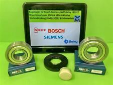 KIT CUSCINETTO CUSCINETTI A SFERE 6305 6306 GUARNIZIONE d/'onda 00181927 Bosch Siemens