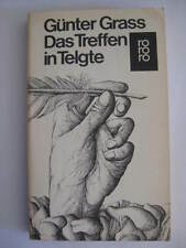 GÜNTER GRASS SIGNED SIGNIERT * AUTOGRAPH DAS TREFFEN IN TELGTE GERMAN BUCH BOOK