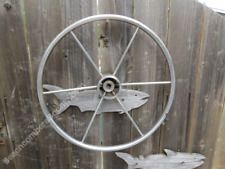 Authentic 20+1/8 inch Stainless Steel Boat Wheel -(XR6-2958)