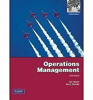 Operations Management (10th Edition), Render, Barry, Heizer, Jay, Good Book
