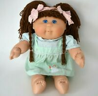 Cabbage Patch Kids doll Toys R us 2001 K6 Tru 1st ed brown hair blue eyes CPK
