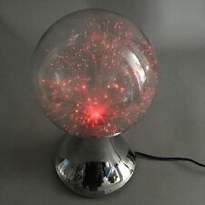 Japanese Fiber Fibre Lamp Vtg Acrylic Resin Twinkle Star J881