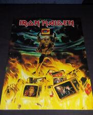 Iron Maiden:1990 No Prayer On The Road U.K. Tour Book/Program