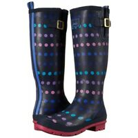 Joules Welly Print (Navy Multi-Spot) 30% OFF **LIMITED SIZES LEFT**