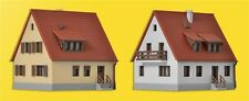 36780 Kibri Z Gauge Kit of Settlement houses from the 1930´s, 2 pieces