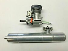 YS 91 SR 700 Nitro Helicopter Engine and Hatori Exhaust Pipe