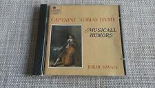 Tobias Hume Musicall Humors 1CD Jordi Savall 3750
