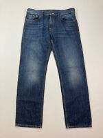 HUGO BOSS MAINE Jeans - W36 L32 - Navy - Great Condition - Men's