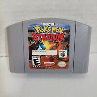 Pokemon Stadium Authentic (N64, 2000) Genuine Working Cartridge Only Nintendo 64
