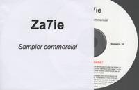 """Zazie 7 Cd Promo Sampler (extraits uniquement sauf pour """"avant l'amour"""")"""