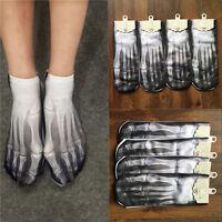 1 Pair Women Men Casual Low Cut Ankle Cotton Socks 3D Printed Fashion Socks