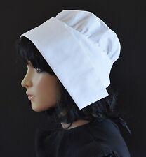 Ladies COIF CAP costume style maid bonnet/hat for maid/milkmaid/servant