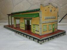 1950'S Marx Toys Freight Terminal - Litho Tin Railroad Train Station