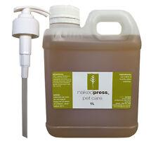 DOG SHAMPOO - 100% NATURAL - 3 ESSENTIAL OILS 1L + PUMP PACK