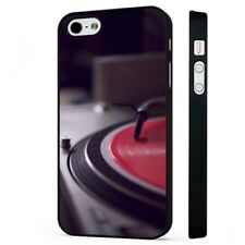 Vinyl DJ Turntable Music Records BLACK PHONE CASE COVER fits iPHONE