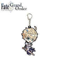 A3 Trading Rubber Strap Keychain Fate/Grand Order 05/Sd Saber Arthur Pendragon