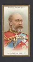 TADDY - ROYALTY SERIES - #1 HIS MAJESTY KING EDWARD VII
