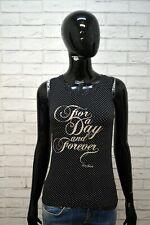 Maglia Donna LIU JO JEANS Taglia XS Maglietta Blusa Shirt Polo T-Shirt Elastica