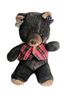 Vintage Emotions Freemont Jr Bear Fluffy Dark Brown Plushee New With Tags Mattel