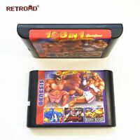 New Arrival 196 in 1 Hot Game Collection For SEGA GENESIS MegaDrive 16 bit Game