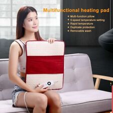 5 Heat Settings Therapy Electric Heat Pad Soft Comfort For Back Neck Spine ZL
