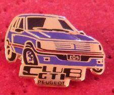 RARE PIN'S PEUGEOT 205 CLUB GTI BLEU EGF