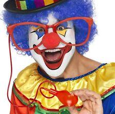 Adulto Costume Da Clown Del Circo Grande Squirting Occhiali & Ballerine