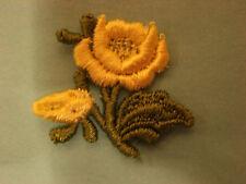 Yellow Rose, Medium Size, Embroidery Applique Patch Emblem Lot (28 Dozen)