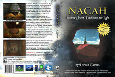 Nacah, Bible Based Game Similar to Myst 4 PC, NEW, Requires BIBLE, adventure